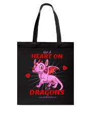 Heart On for Dragons Tote Bag thumbnail