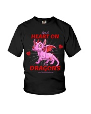 Heart On for Dragons Youth T-Shirt thumbnail