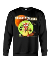CREEPIN' IT REAL Crewneck Sweatshirt thumbnail
