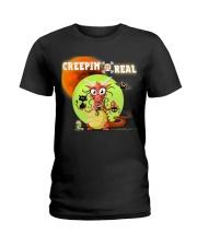 CREEPIN' IT REAL Ladies T-Shirt thumbnail