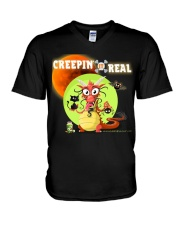 CREEPIN' IT REAL V-Neck T-Shirt tile