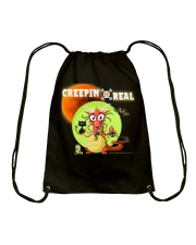 CREEPIN' IT REAL Drawstring Bag tile