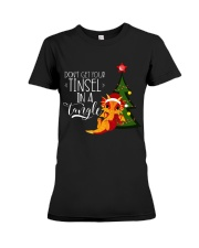 Don't Get Your Tinsel in a Tangle Premium Fit Ladies Tee thumbnail