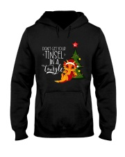 Don't Get Your Tinsel in a Tangle Hooded Sweatshirt front