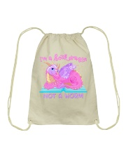 Book Dragon - Julia Mills Author EXCLUSIVE Drawstring Bag thumbnail