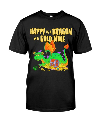 Happy as a Dragon in a Gold Mine