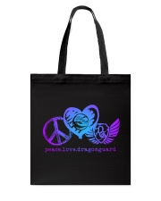 Take the Guard With You Tote Bag front