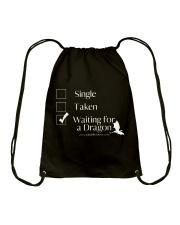 Waiting For A Dragon Drawstring Bag thumbnail