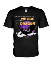 Get off the Dragon V-Neck T-Shirt thumbnail