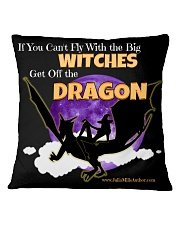 Get off the Dragon Square Pillowcase thumbnail