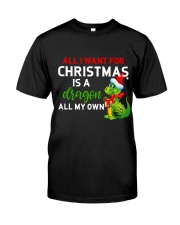 A Dragon for Christmas Classic T-Shirt front