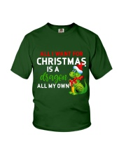 A Dragon for Christmas Youth T-Shirt thumbnail