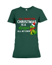 A Dragon for Christmas Premium Fit Ladies Tee thumbnail