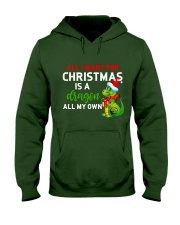 A Dragon for Christmas Hooded Sweatshirt thumbnail