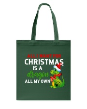 A Dragon for Christmas Tote Bag thumbnail