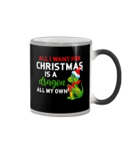 A Dragon for Christmas Color Changing Mug thumbnail