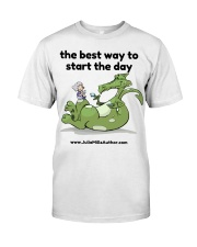 The Best Way to Start Your Day Classic T-Shirt thumbnail