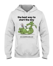 The Best Way to Start Your Day Hooded Sweatshirt thumbnail