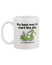 The Best Way to Start Your Day Mug back