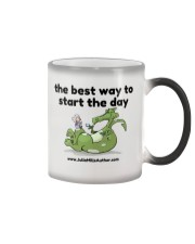 The Best Way to Start Your Day Color Changing Mug thumbnail