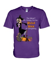 Wicked Witch of Everything V-Neck T-Shirt thumbnail