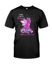 FIGHT LIKE A DRAGON Classic T-Shirt front