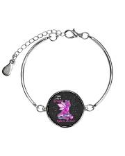 FIGHT LIKE A DRAGON Metallic Circle Bracelet thumbnail