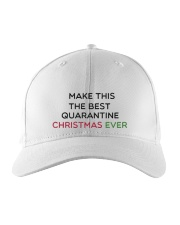 MAKE THIS THE BESTQUARANTINE CHRISTMAS EVER Embroidered Hat thumbnail