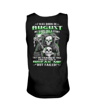 August Guy My Scars Tell A Story Unisex Tank thumbnail
