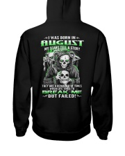 August Guy My Scars Tell A Story Hooded Sweatshirt thumbnail