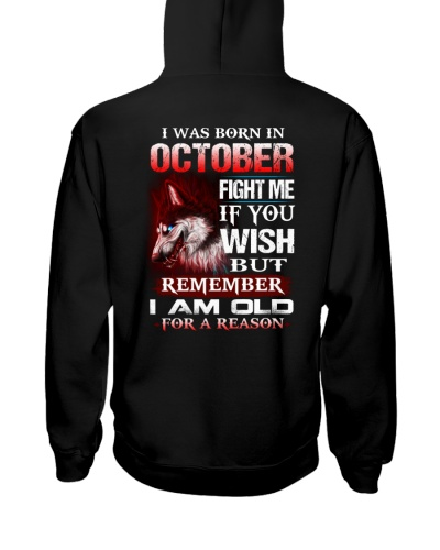 I Was Born In October Fight Me If You Wish