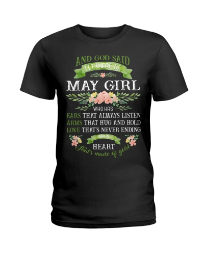 And God Said Let There Be May Girl