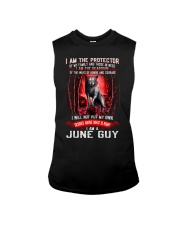 JUNE GUY IS THE PROTECTOR OF THE FAMILY Sleeveless Tee thumbnail