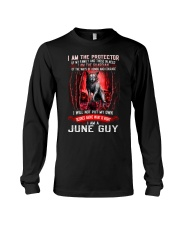 JUNE GUY IS THE PROTECTOR OF THE FAMILY Long Sleeve Tee thumbnail