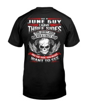 June Guy with Three Sides Classic T-Shirt back