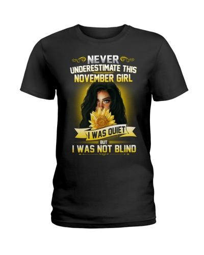 November Girl Was Quiet But Not Blind