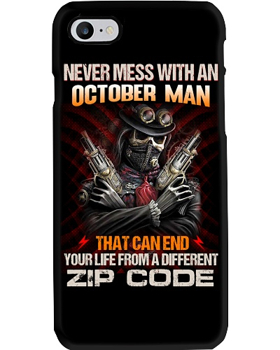 Never Mess With An October Man