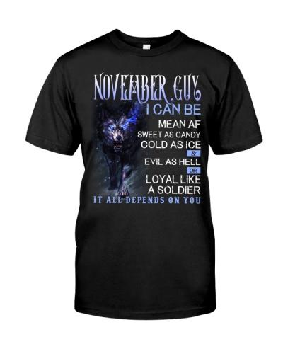 November Guy Can Be Mean AF