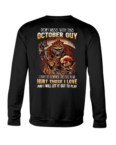 October Guy Will Let The Evil Out To Play
