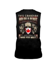 This Canadian Holds A Beast  Sleeveless Tee thumbnail