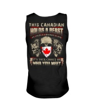 This Canadian Holds A Beast  Unisex Tank thumbnail