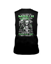 March Guy My Scars Tell A Story Sleeveless Tee thumbnail