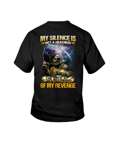 My Silence Is Not A Weakness