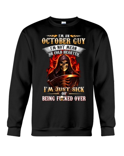 October Guy Isn't Mean Or Cold Hearted
