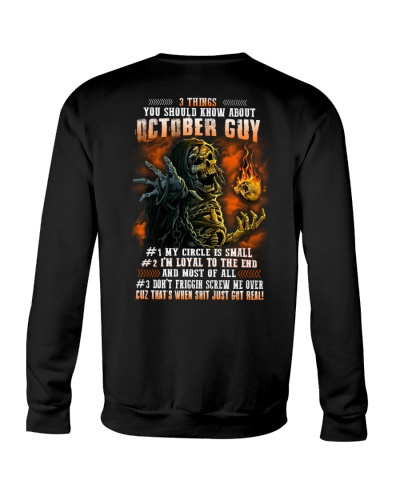 3 Things You Should Know About October Guy