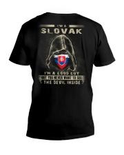 I'm A Slovak V-Neck T-Shirt thumbnail