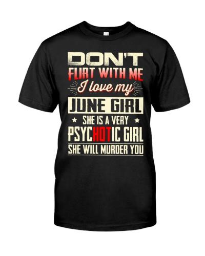 I Love My June Girl