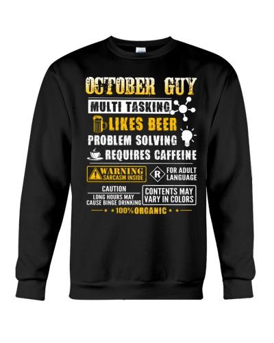 October Guy Multi Tasking