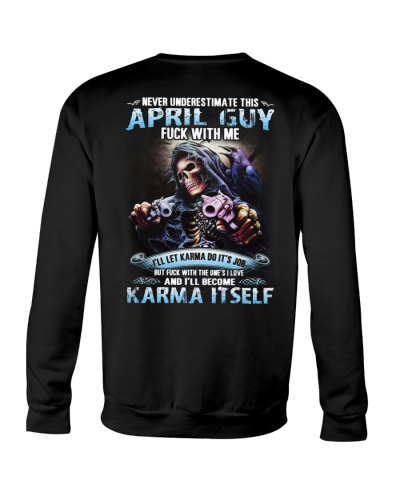 April Guy Will Become Karma Itself