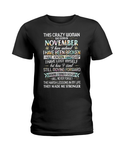 This Crazy Woman Was Born In November